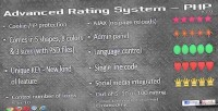 Rating advanced system php