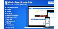 Value website calculator 2.0