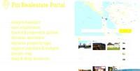 Real pin estate script php portal