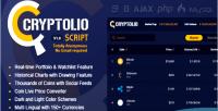 Realtime cryptolio cryptocurrency market charts prices calcu watchlist portfolio