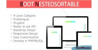 Responsive bootstrap based jquery nestedsortable