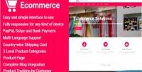 Responsive ecommerce ecommerce script management business