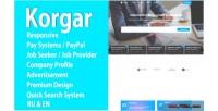 Responsive korgar hr platform web vacancies