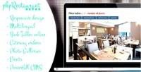 Restaurant phprestaurant cms with script