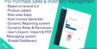 Sales purchase & system management inventory