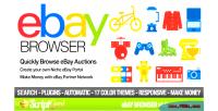 Affiliate ebay browser
