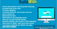 Buildwith website built with script php checking