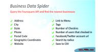Data business spider