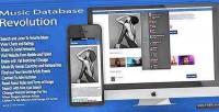 Database music 2 revolution