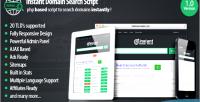 Domain instant search script