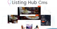 Hub listing cms theme listings directory