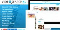 Multi videosearchxl source engine search video