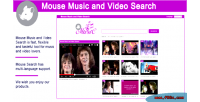 Music mouse search video and