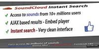 Search soundcloud api integration