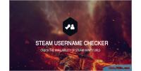 Username steam vanity checker