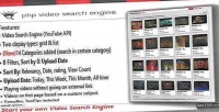 Video php search engine