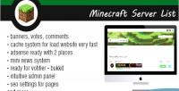 Server minecraft list