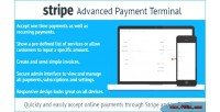 Advanced stripe payment terminal