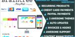 Braintree laraship laravel 5 5 & paypal credit card wit platform subscriptions