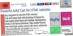 Cart for html websites invoices orders with cart