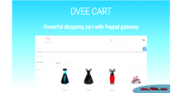 Cart dvee e paypal with commerce