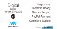 Digital simple good dg genixmarket marketplace