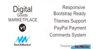 Digital simple good dg genixmarket marketplace
