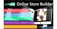 Gomymobibsb ecommerce business website builder store online