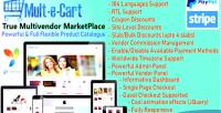 Multivendor multecart ecommerce shopping marketplace cms solution cart