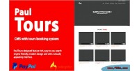 Paulshop cms with tour system booking transfer