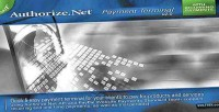 Payment authorize.net terminal