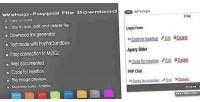 Paypal wshop file download