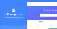 Prices altcoin prices cryptocurrency 700