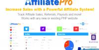 Pro affiliate system management affiliate