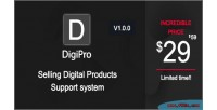 Selling digipro digital system support products