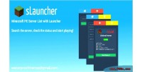 Slauncher minecraft pe server launcher with list