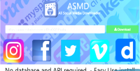 Social all media downloader