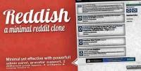 A reddish clone reddit minimal