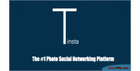 A tinsta photo platform sharing networking social