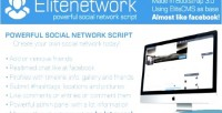Advanced elitenetwork script network social