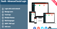 Advanced oauth social login