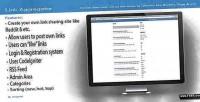 Aggregator link php script sharing link