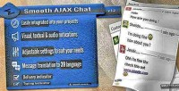 Ajax smooth chat