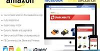 Amazon facebook store application