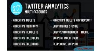 Analytics twitter multi accounts