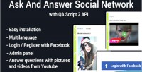 And ask network social answer