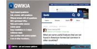 Ask qwikia platform answer and