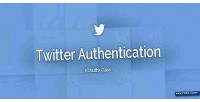 Authentication twitter oauth class