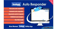 Auto facebook responder