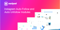 Auto instagram follow modules unfollow instagram nextpost for